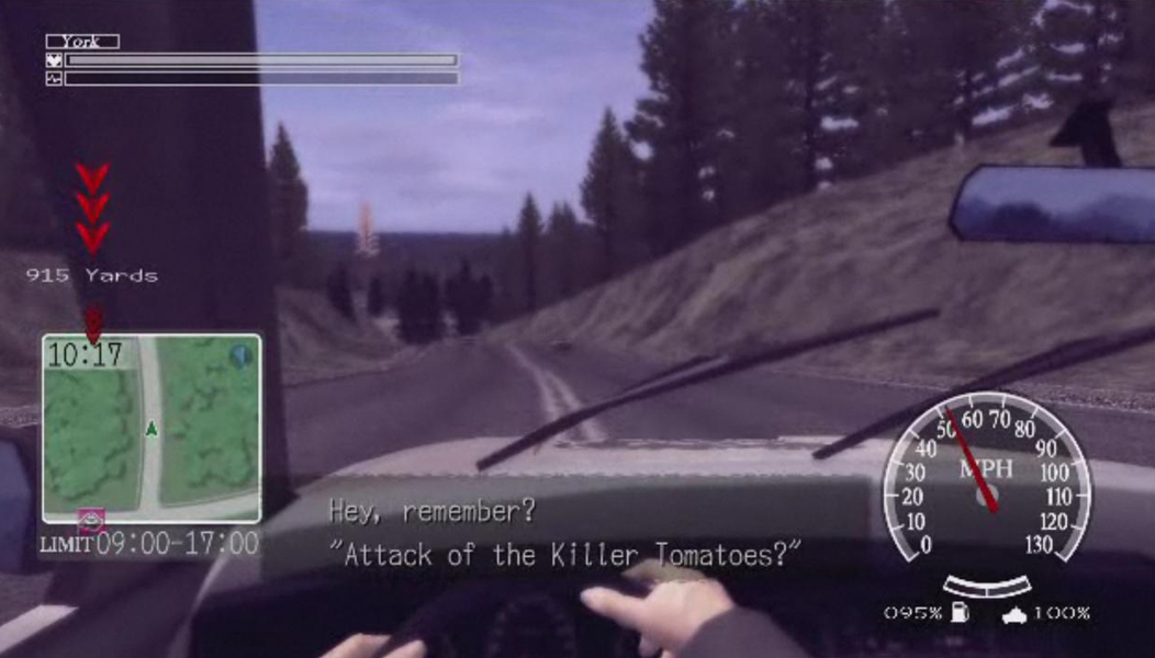 Deadly Premonition Car Third Person Driving Keyboard